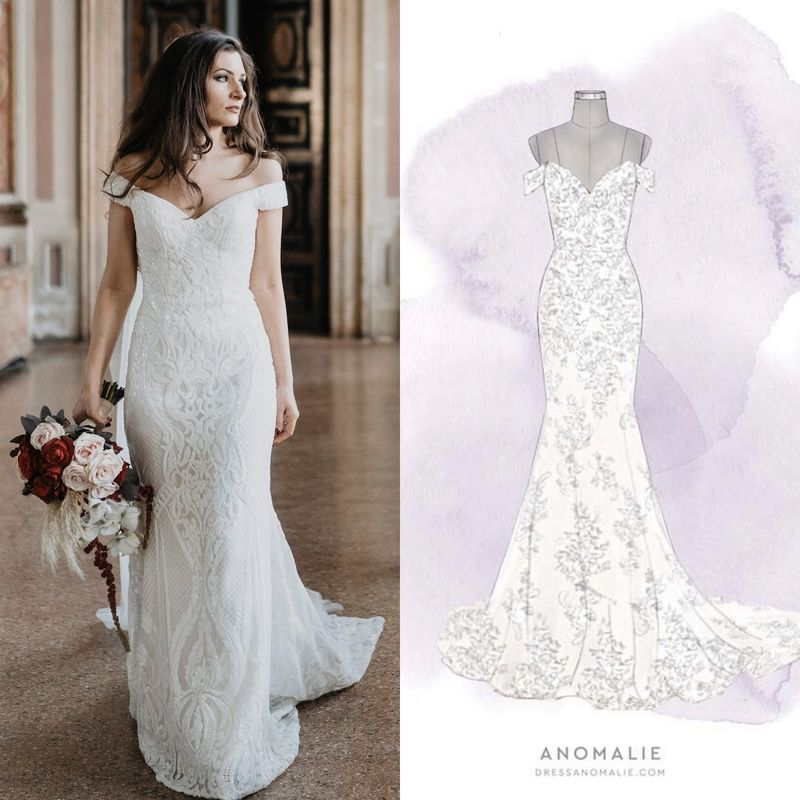 Customizable Bridal Gowns