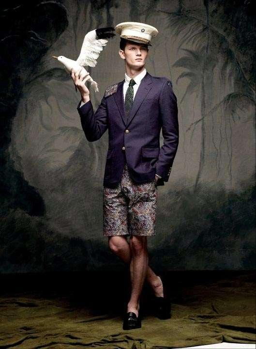 Hipster School Boy Fashion