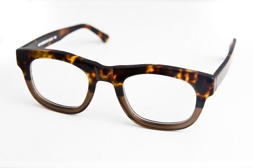 Bold Recycled Vinyl Glasses : recycled vinyl