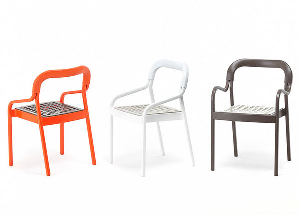 Vibrant Stackable Outdoor Chairs