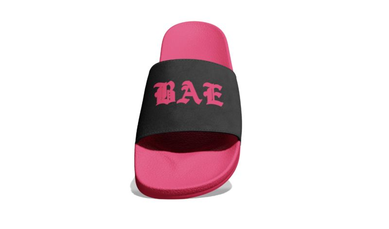Customizable Slide Shoes