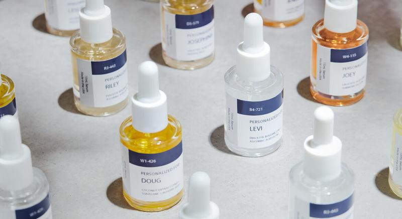 Algorithmic Skincare Serums