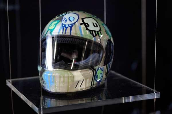 Artistic Bike Helmets