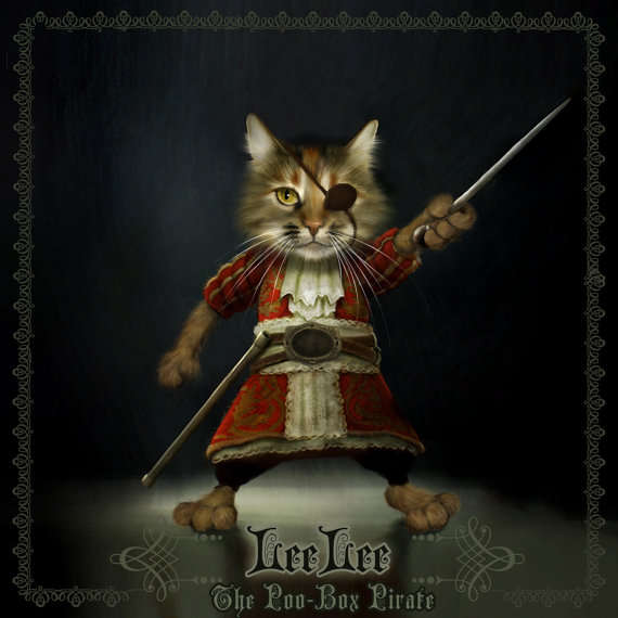 Buccaneer-Inspired Pet Portraits