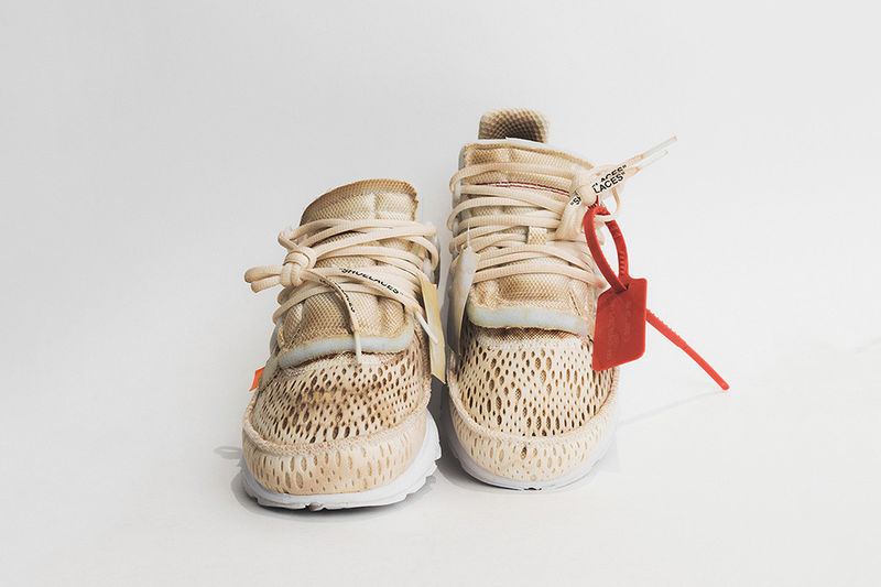 Custom Coffee-Dyed Sneakers