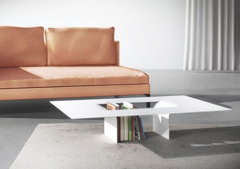 Cutout Interior Coffee Tables