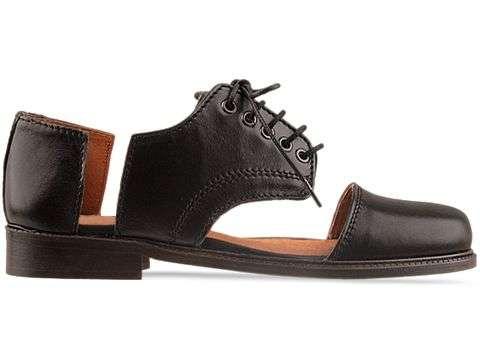 Unfinished High-Fashion Footwear