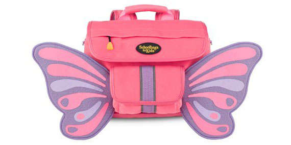 66dd947c166d Fluttering Critter Carryalls. Dsinlare Bowknot Girls Bookbags for Kids Cute  ...