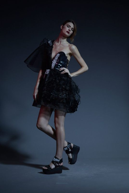 Chic LED-Embedded Dresses