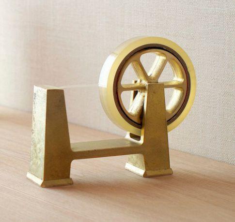 Spinning Wheel Tape Dispensers