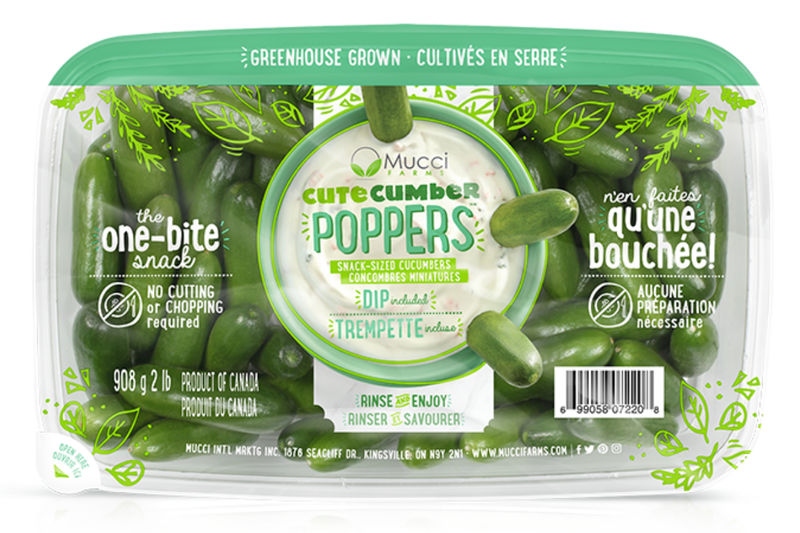 Snack-Sized Cucumbers