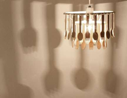 Creative Cutlery Chandeliers