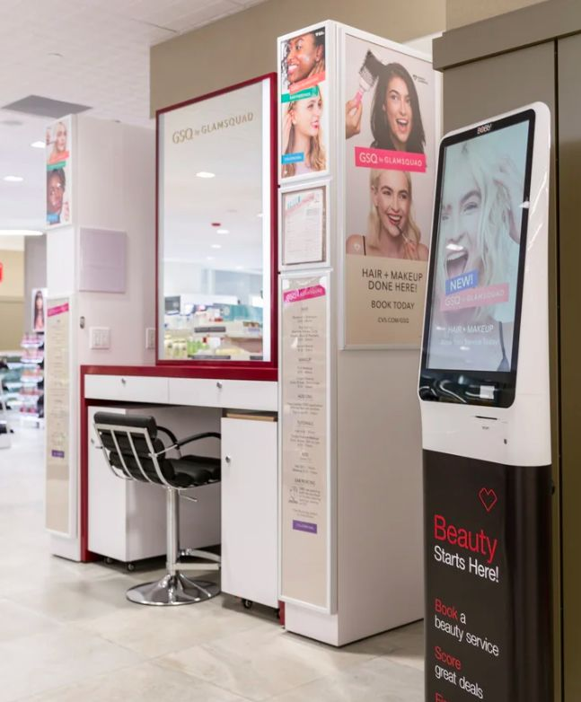 Interactive Beauty Departments