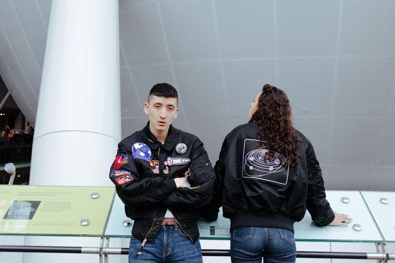Soace-Inspired Bomber Jackets
