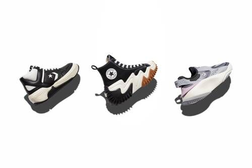 Artful Chunky Casual Footwear