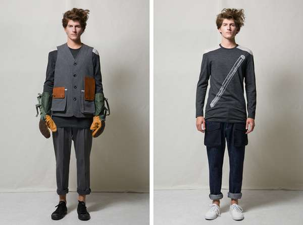 Patchwork Menswear