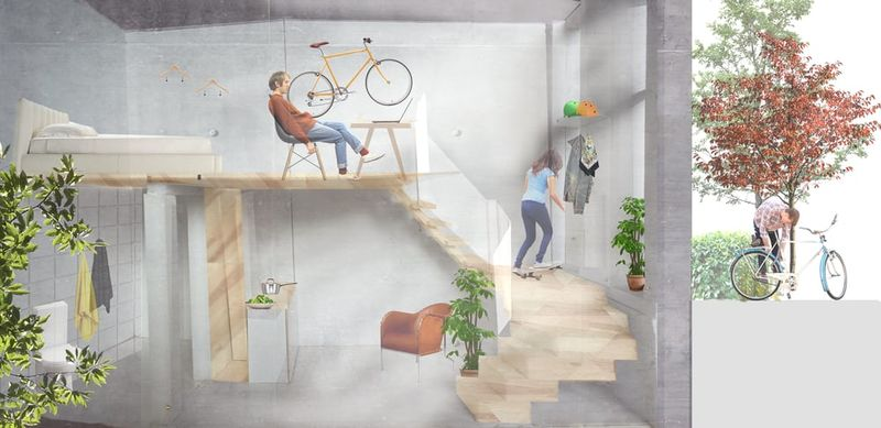 Cycling-Centric Buildings
