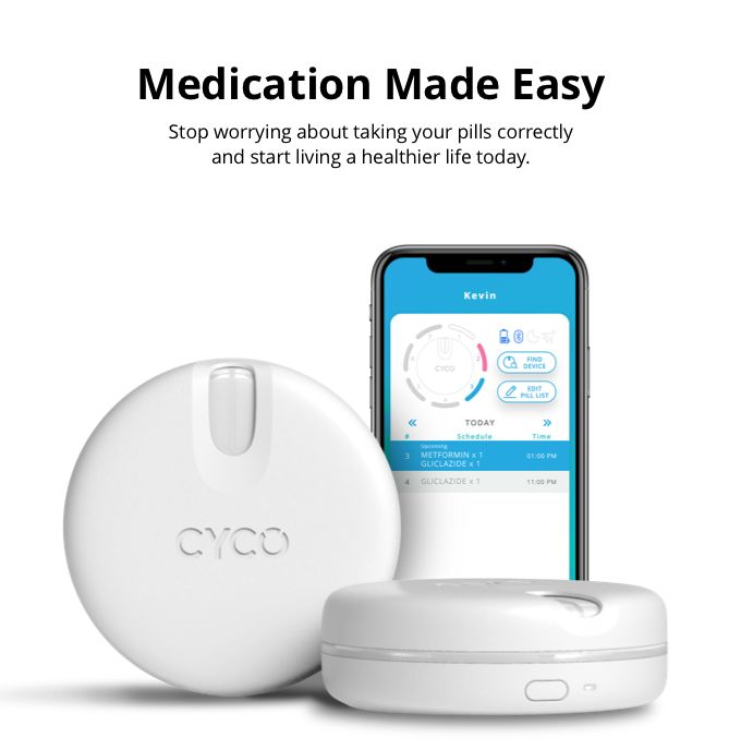 Dosage-Tracking Medication Containers