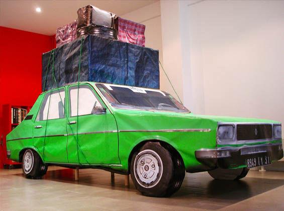Deflated Assembled Photo Sculptures