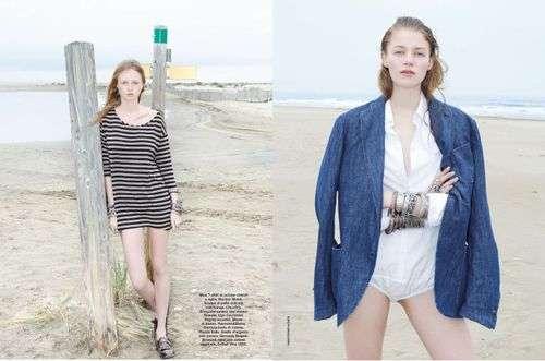 Beachy Bohemian Editorials