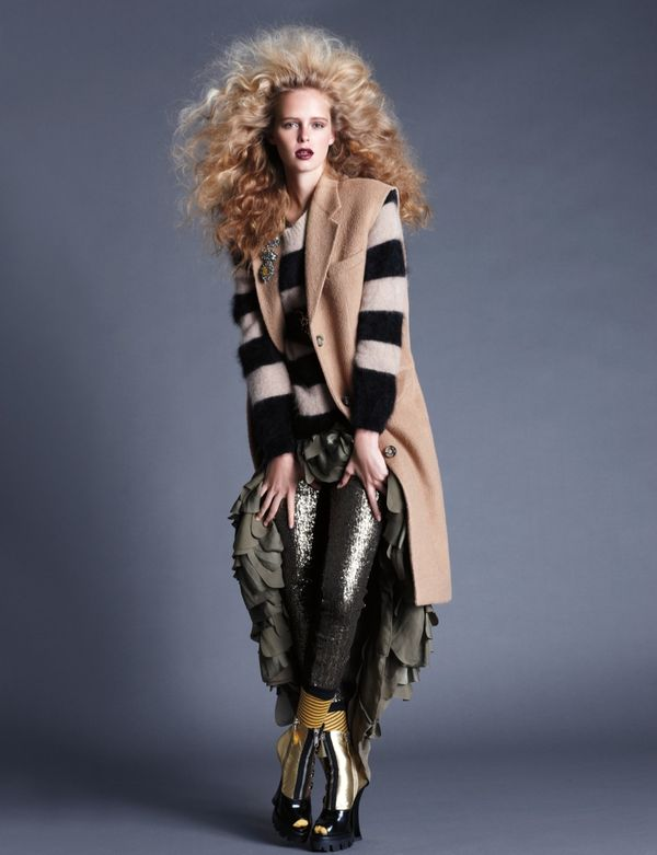 Eclectic Big-Haired Editorials
