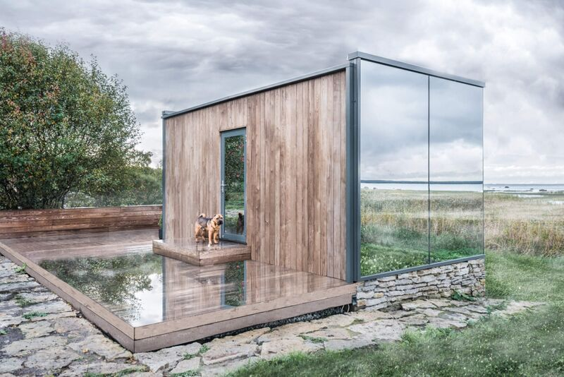 Mirrored Supplemental Property Cabins