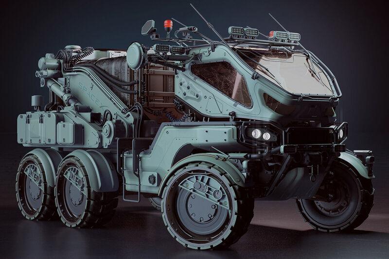 Modular Mars Exploration Vehicles