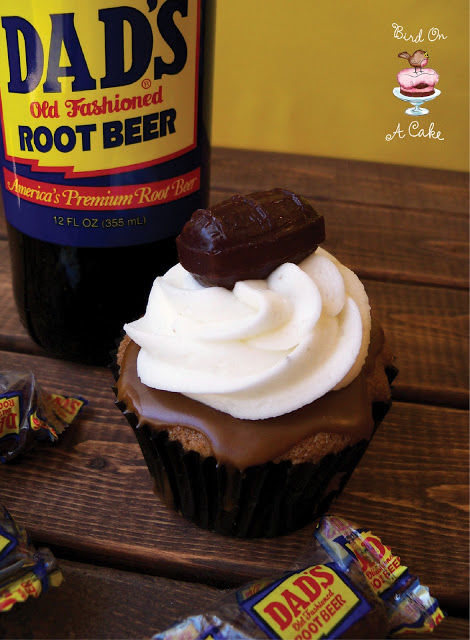 Decadent Root Beer Cupcakes