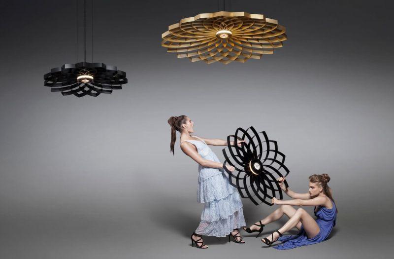 Ornate Flower-Inspired Illuminators
