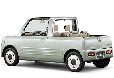 Miniaturized Pickup Trucks  The Daihatsu Basket is a Retro Redneck s