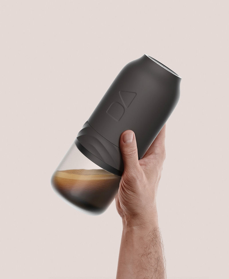 Handheld Canister Coffee Brewers
