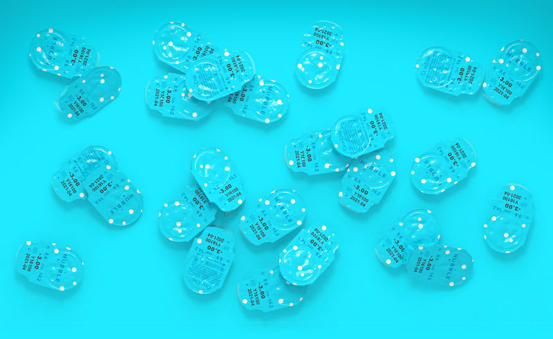 UV-Shielding Contact Lenses