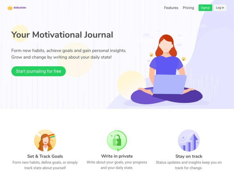 Motivational Coaching Journal Apps