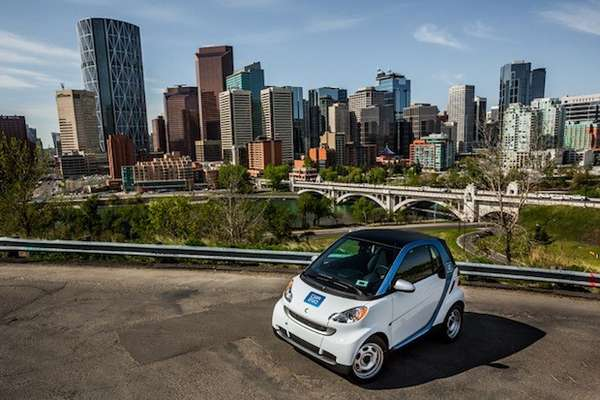 Solar Powered Rental Cars