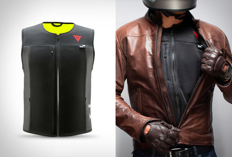 Wearable Motorcyclist Airbag Jackets