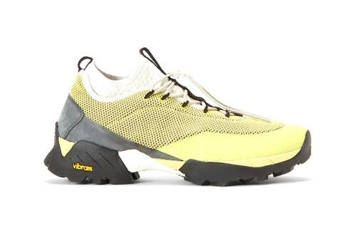 Florescent Yellow Sneakers