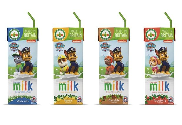 Flavorful Prepackaged Child Milks