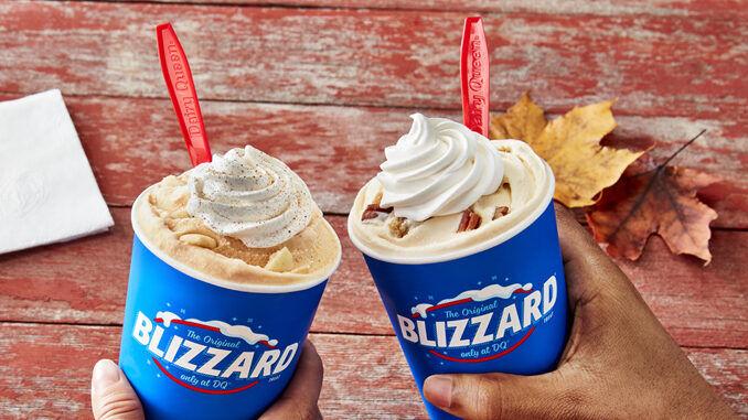 Autumnal Ice Cream Menus