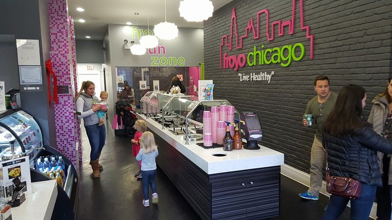 Vegan Frozen Yogurt Shops