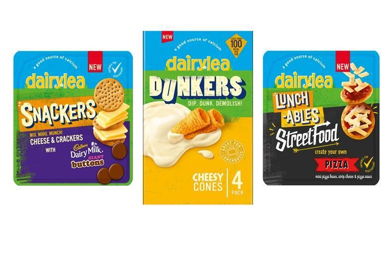 Cheese-Focused Child Snack Packs