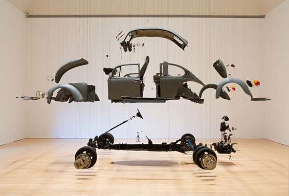 Curiously Dismantled Installations