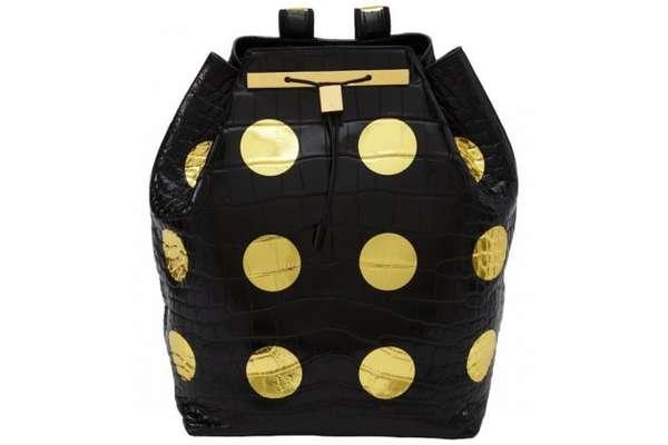 Faux Stud Backpacks