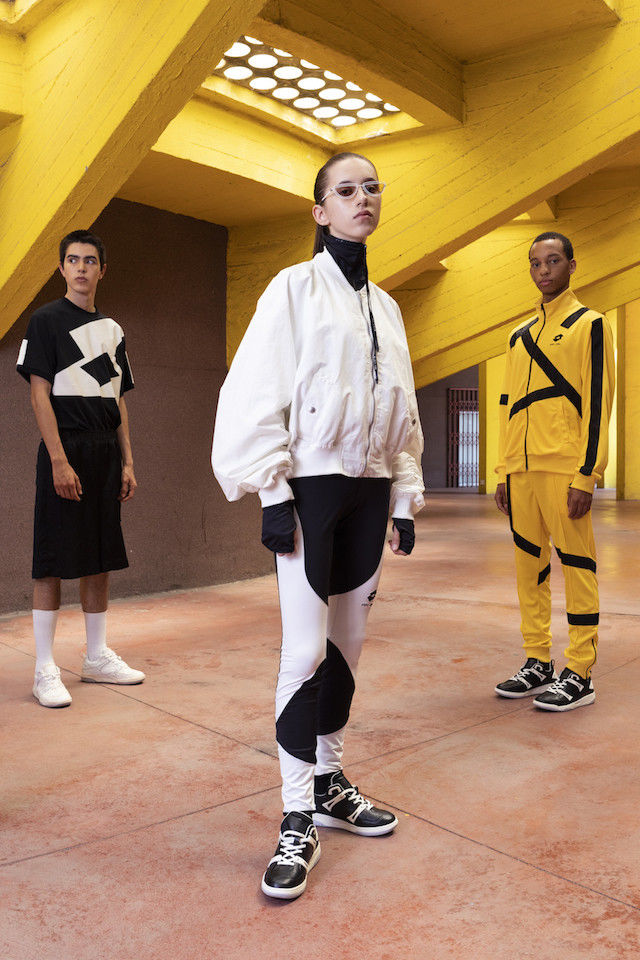 Color-Blocked Sportswear Series
