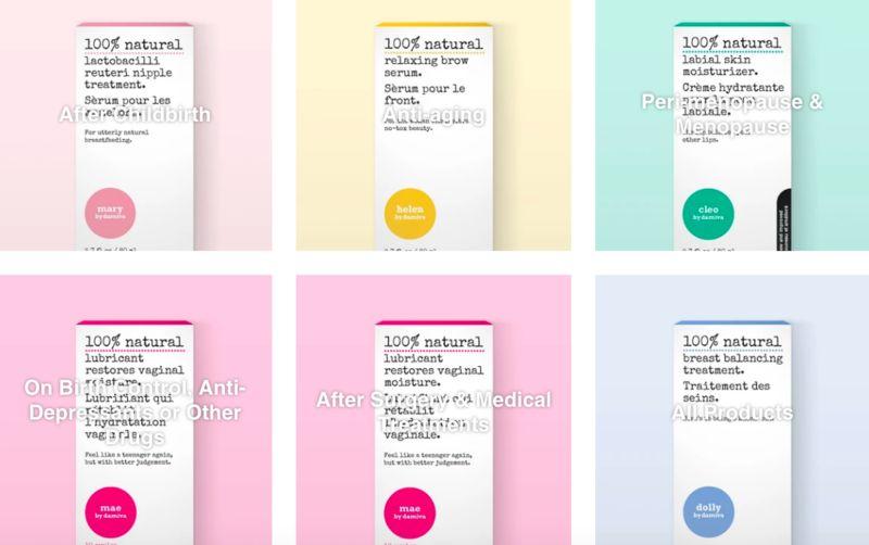 All-Natural Women's Wellness Brands