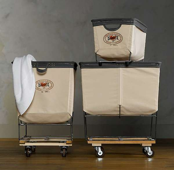 Industrial Clothes Bins The Dandux Laundry Cart Design