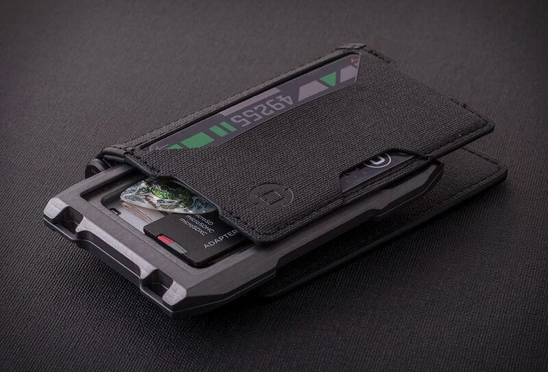 Modular Anti-RFID Aluminum Wallets