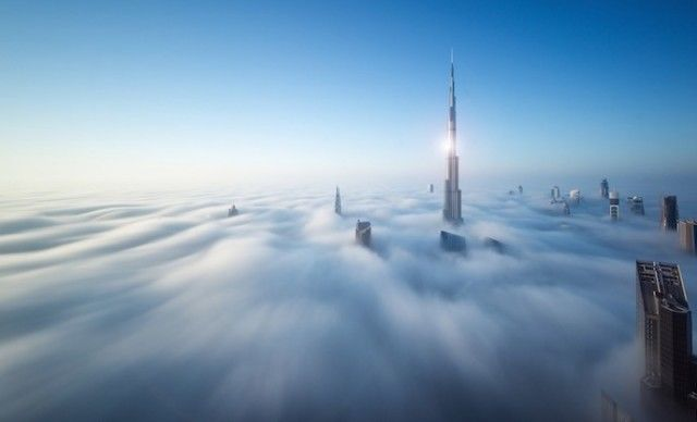 Foggy Dubai Photography