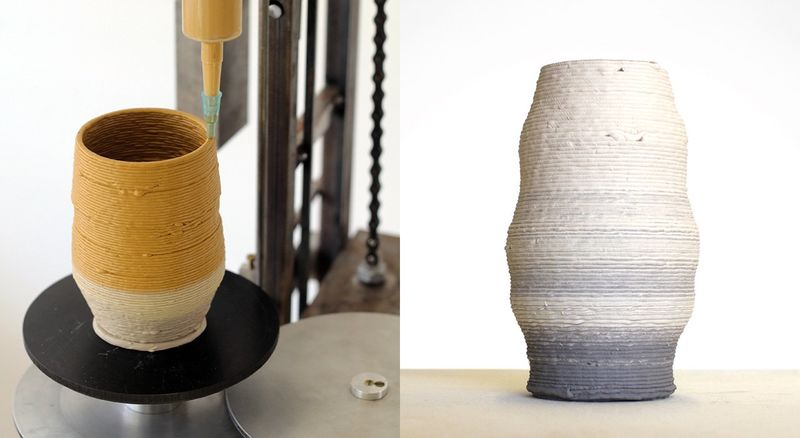 3D-Printed Pottery