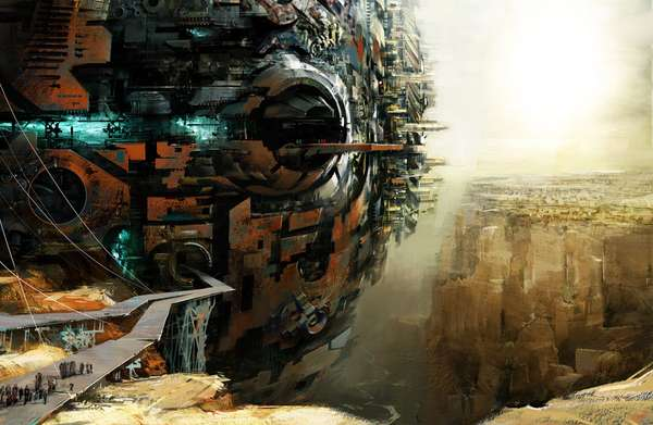 Surreal Sci-Fi Landscapes