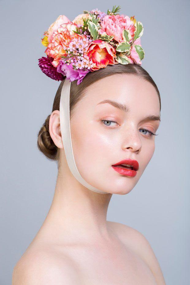 Opulent Floral Headpieces